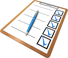 checklist pré-contrôle technique