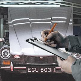 contrôle de la voiture