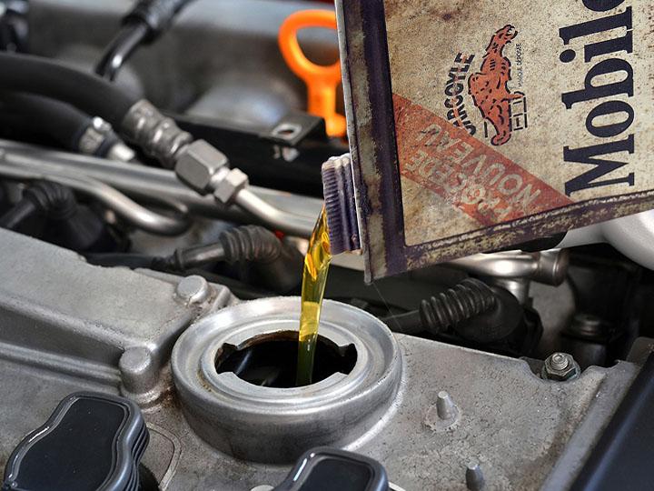 huile de moteur pour vidange