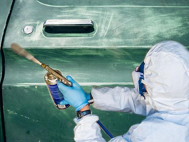 peinture carrosserie portière de voiture