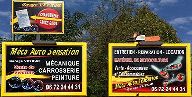 pubs garage Veyrun - Méca Auto Sensation