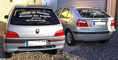 véhicules de courtoisie garage Veyrun